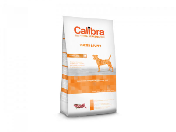 Calibra Dog Hypoallergenic Starter & Puppy Lamb & Rice