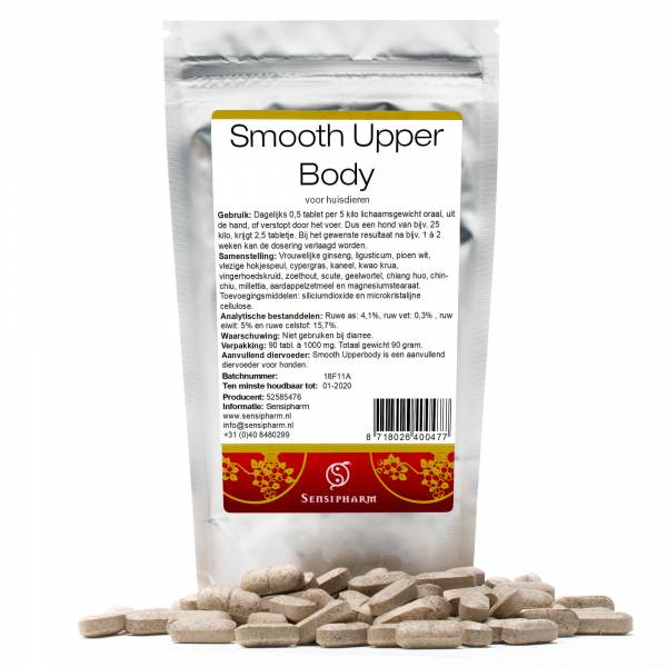 Sensipharm Smooth Upperbody Huisdieren 90 tabletten
