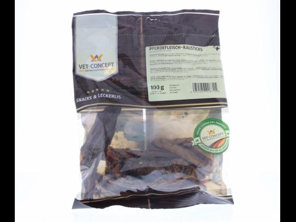 Vet-concept Paardenvleeskauwsticks Snack Hond 100 gram