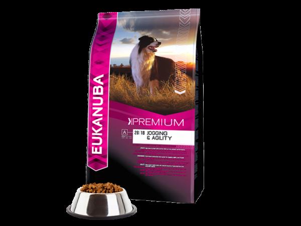 Eukanuba Dog Premium Performance Jogging en Agility 15 kg