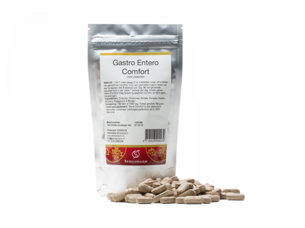 Sensipharm Gastro Entero Comfort Paard 180 tabletten