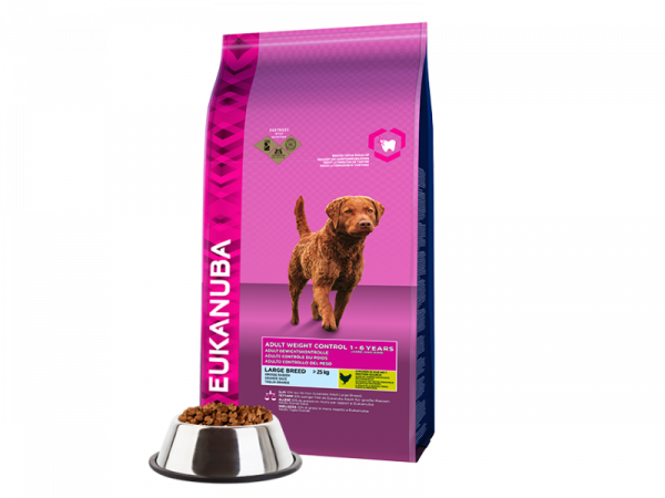 Eukanuba Dog Adult Large Breed Weight Controll 12 kg
