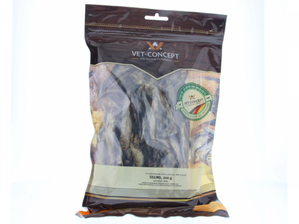 Vet-concept Luchtgedroogde Visjes Snack Hond Kat 200 gram