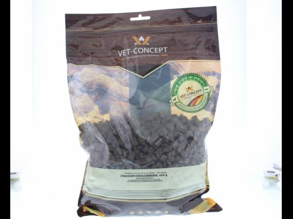 Vet-concept Struisvogelvleessnacks Snack Hond Kat 1000 gram