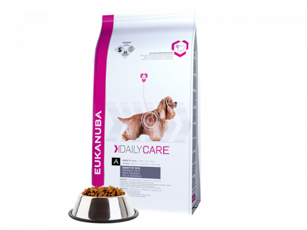 Eukanuba Dog Daily Care Adult Sensitive Skin 12 kg