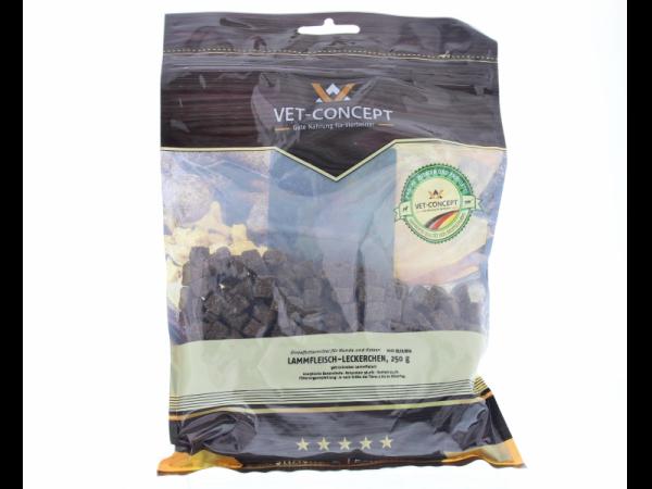 Vet-concept Lamsvleessnacks Snack Hond 250 gram