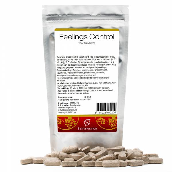 Sensipharm Feelings Control Huisdieren 90 tabletten