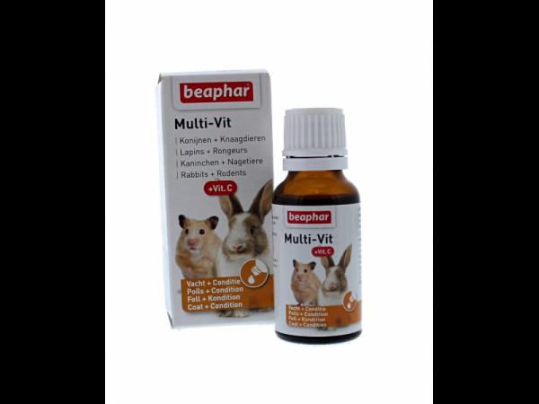Beaphar Multi-Vit Knaagdier 20 ml
