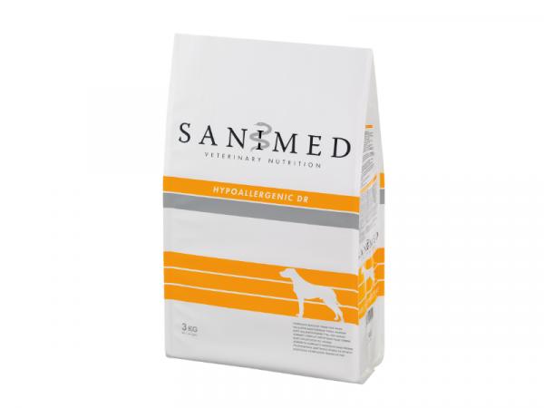 Sanimed Hypoallergenic Hond DR Eend en Rijst