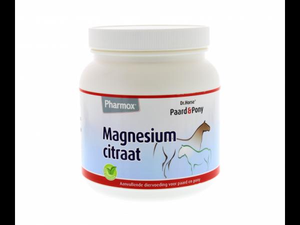 Pharmox Dr Horse Magnesiumcitraat Paard Pony 500 gram