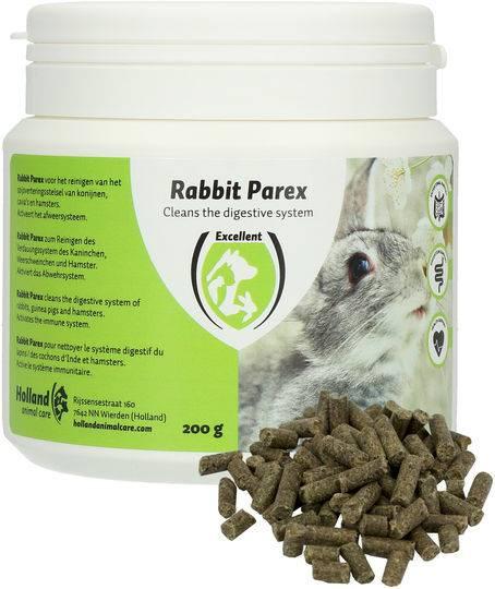 Rabbit Parex Kruiden Darm Spijsvertering Konijn 200 gram