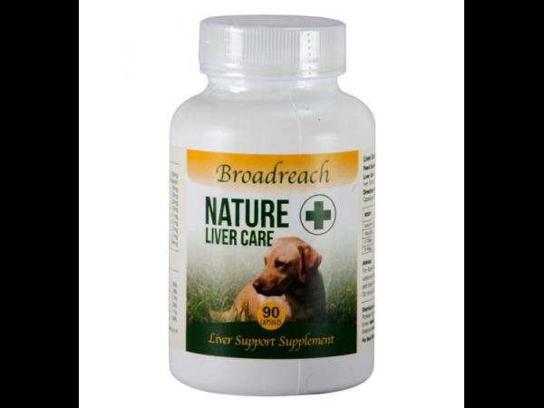 Broadreach Nature+ Liver Care Lever Hond Kat 90 capsules
