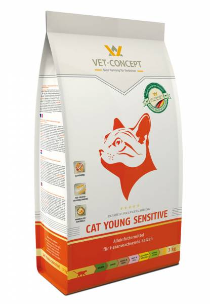 Vet-Concept Young Sensitive Kattenvoer 10 kg