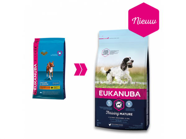 Eukanuba Dog Thriving Mature Medium Breed 12 kg