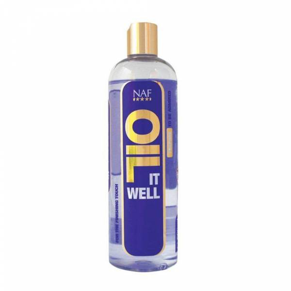 NAF Oil It Well Glansolie Paard 500 ml