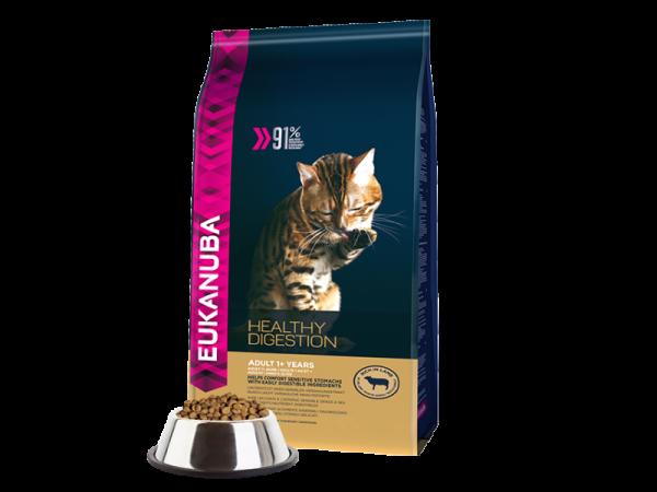 Eukanuba Cat Adult Healthy Digestion 4 kg